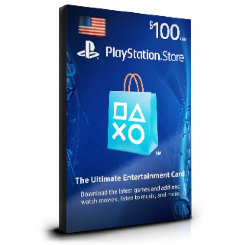 playstation 100 card