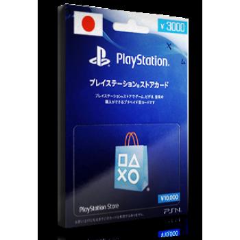 PlayStation Card ¥3000 JP