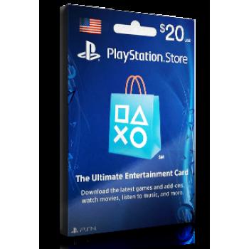 PlayStation Card $20 USA