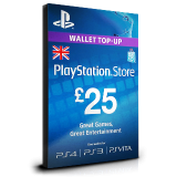 PlayStation Card £25 UK