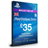 PlayStation Card £35 UK