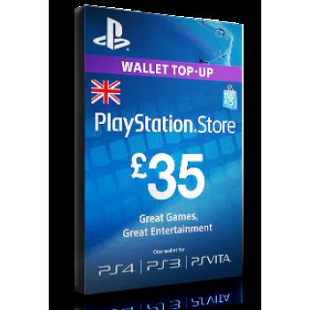 PlayStation Card £35 UK