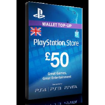 PlayStation Card £50 UK