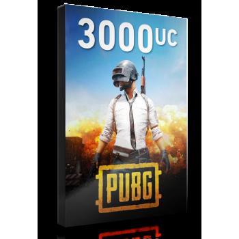 PUBG 3000 UC + 850 Free