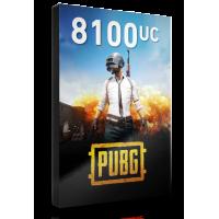 PUBG 8100 UC
