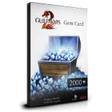 Guild Wars 2 GEMS Card 2000