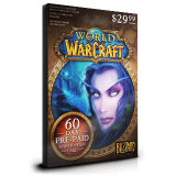 World of Warcraft Pre Paid 60 Days EU