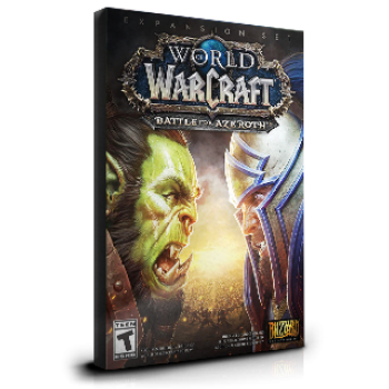 World of Warcraft Battle for Azeroth EU
