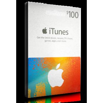 iTunes Card $100