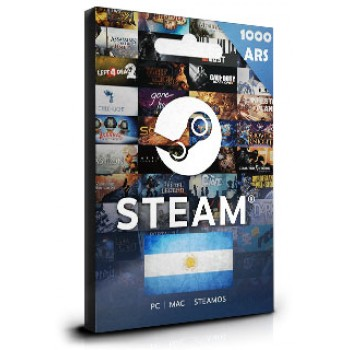 Steam Card 1000 ARS