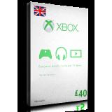 xBox Card £40 UK
