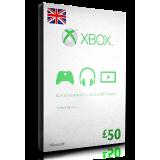 xBox Card £50 UK