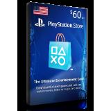 PlayStation Card $60 USA