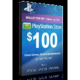 PlayStation Card $100 KSA