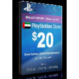 PlayStation Card $20 UAE