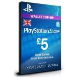 PlayStation Card £5 UK