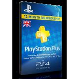PlayStation Plus 12 Months UK