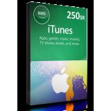 iTunes Card 250 SR
