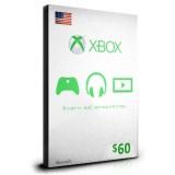 xBox Card $60